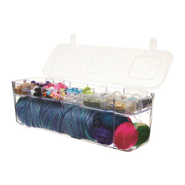Large Caddy Container with Storage Tray