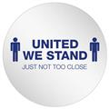 "StandSafe 20"" Personal Spacing Disks – United We Stand"