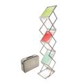 Portable Literature Display - Magazine - 6 Shelves