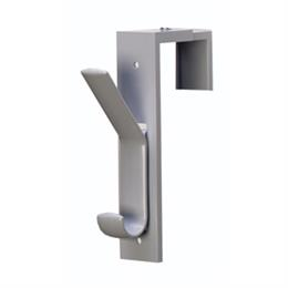 Plastic Partition Hook - Gray
