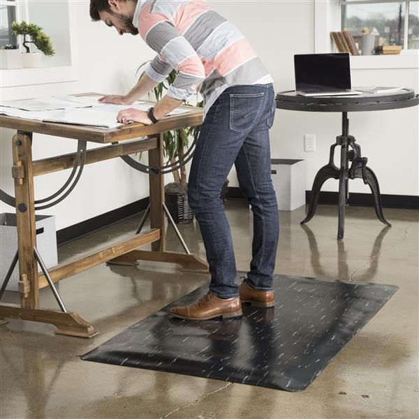 Anti-Fatigue Marble Top Mat