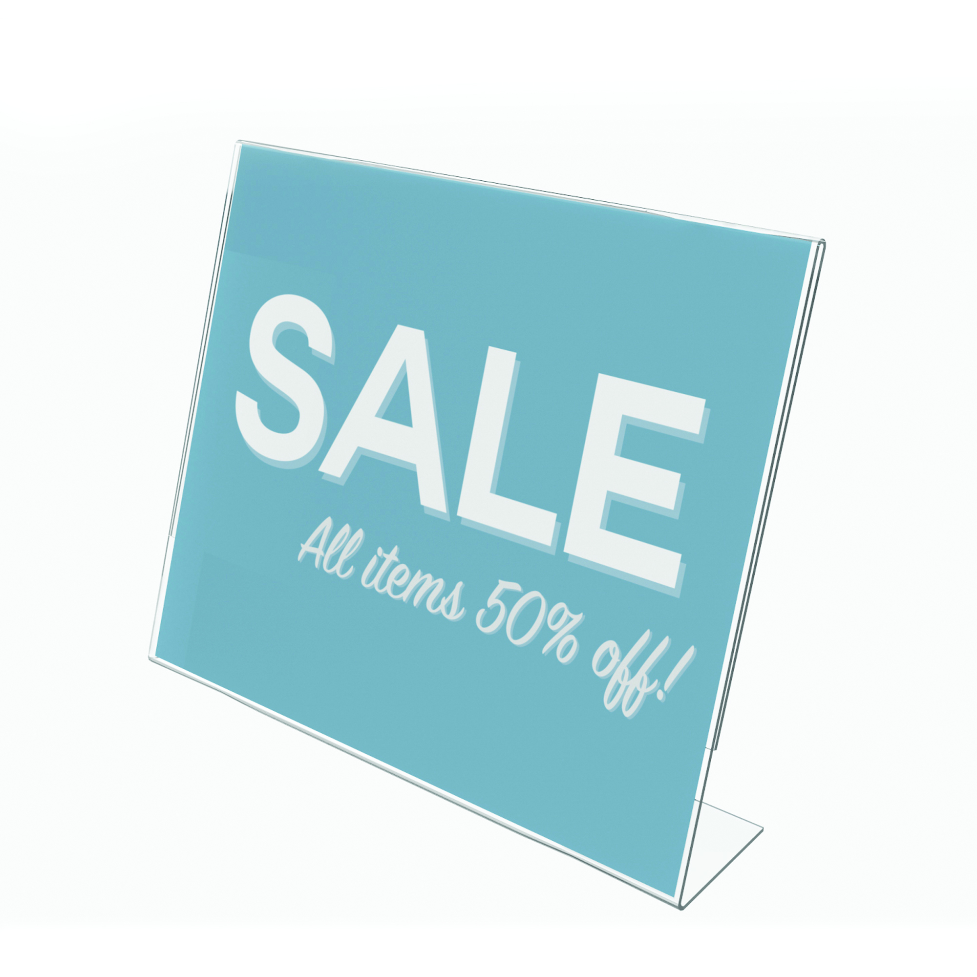 Classic Image® Slanted Sign Holder