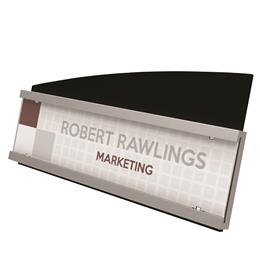 "Interior Image® Nameplate Sign Holder - 8.5"" x 2"""