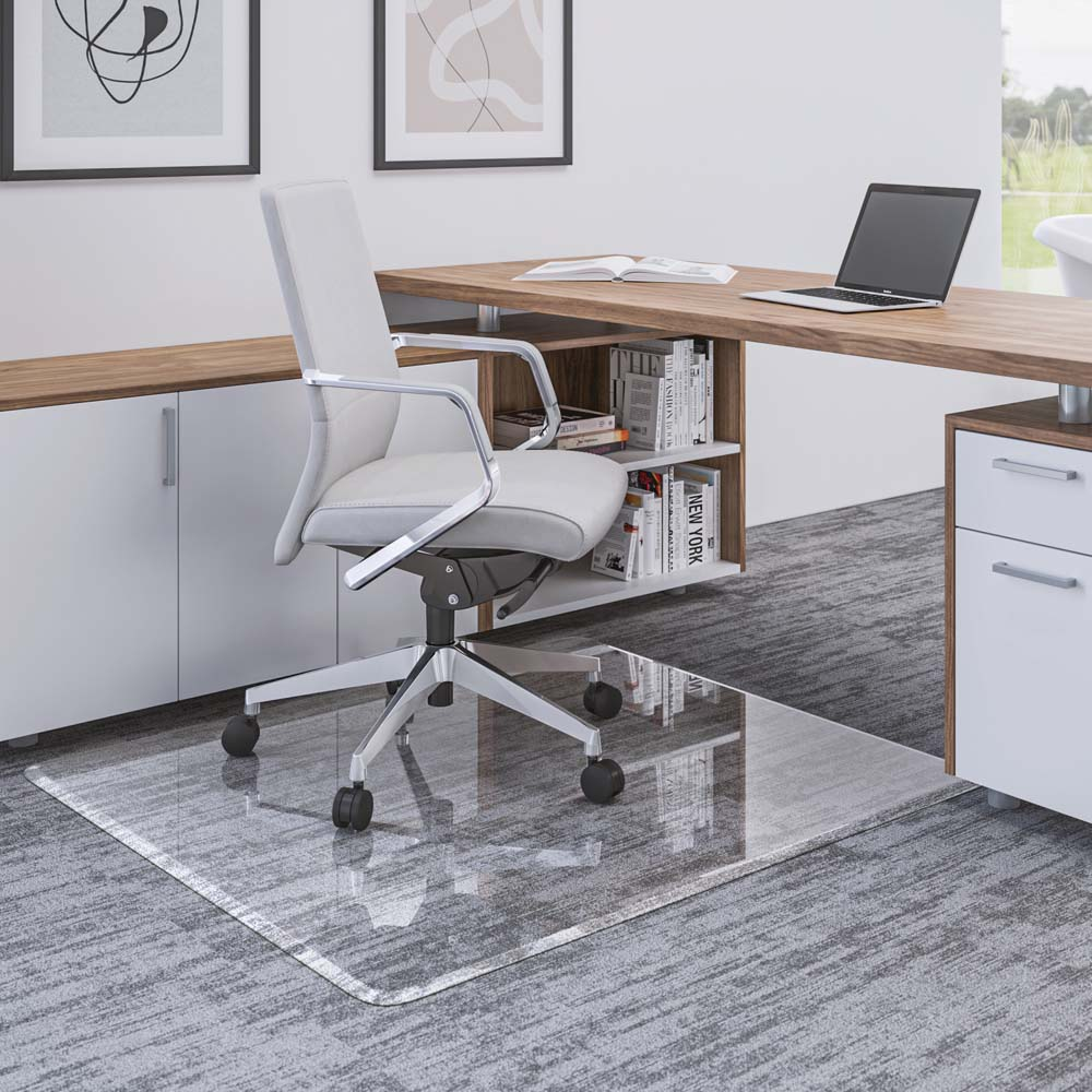 Premium Glass Chair Mat for Multi-Surface