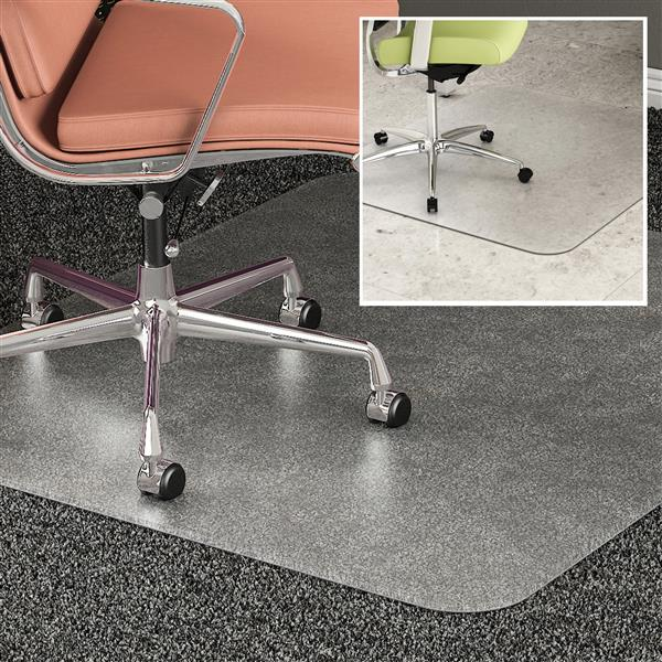 DuoMat® Multi-Surface Floor Protection Chair Mat