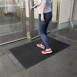 Indoor/Outdoor Tread Scraper Mat